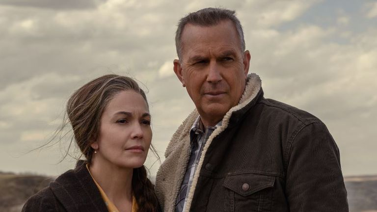 Diane Lane and Kevin Costner are reunited in the crime thriller, playing grandparents searching for their grandson. Pic: Focus Features