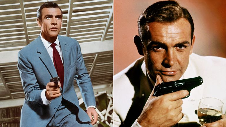 Sean Connery as James Bond in Dr No. Pics: APL Archive/Alamy/Danjaq/Eon/Ua/Kobal/Shutterstock