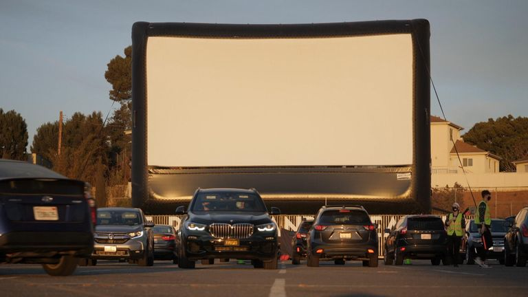 Drive-in movie theatres have made a comeback during the pandemic