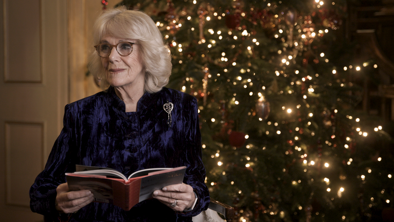 The Prince of Wales and the Duchess of Cornwall have joined a star-studded cast to record a festive treat they hope will raise awareness of the difficulties still facing the film and theatre industries.