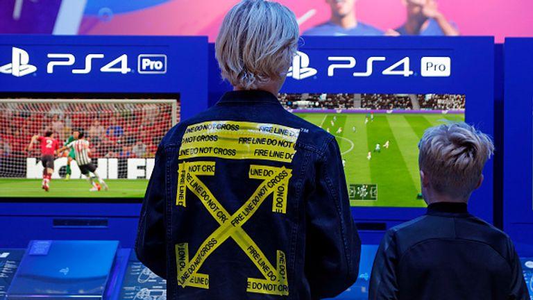 EA makes the popular FIFA series of football games