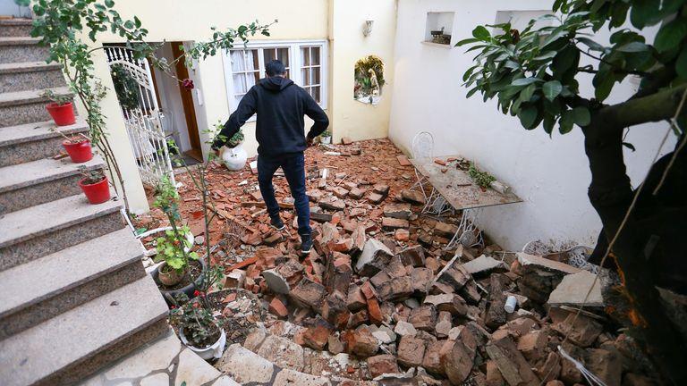 Earthquake strikes near Zagreb
