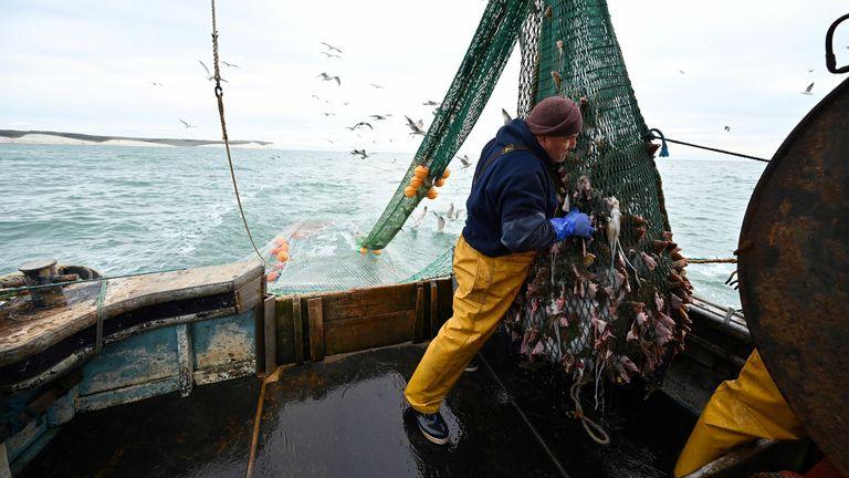 Newhaven fishing boat skipper Neil Whitney
