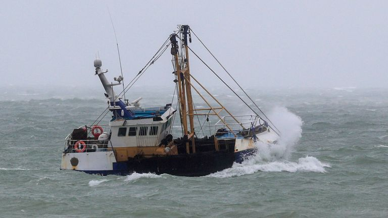 The Royal Navy has been put on standby to protect UK fishing grounds