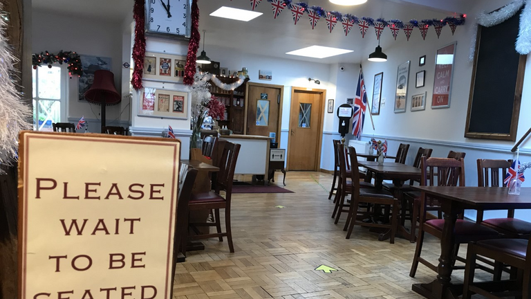 The Fourteas tearoom in Stratford is unable to reopen