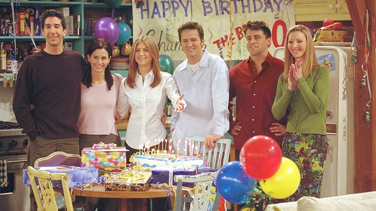 The cast of Friends will begin filming for a one-off special in 2021