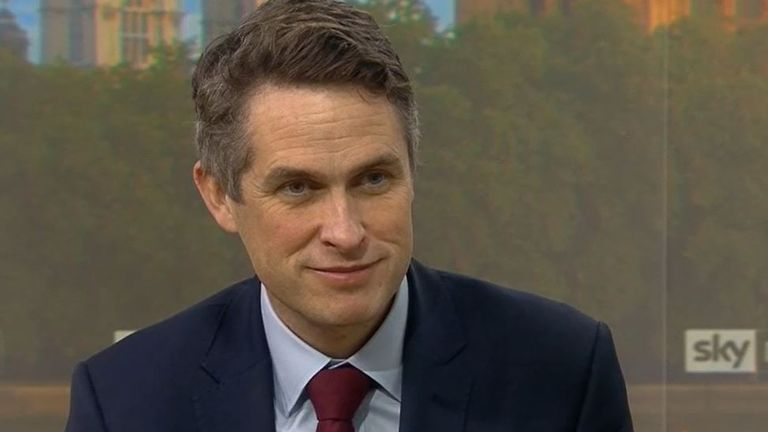 Gavin Williamson is asked if he will have coronavirus vaccine on live television
