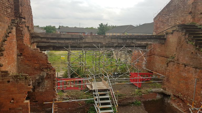 The cinema was destroyed by a one-tonne bomb. Pic: National Civilian WWII Memorial Trust