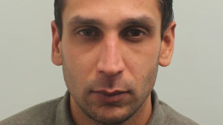 Gurjeet Lall, 36, attacked the grandfather in Southall, west London. Pic: Met Police