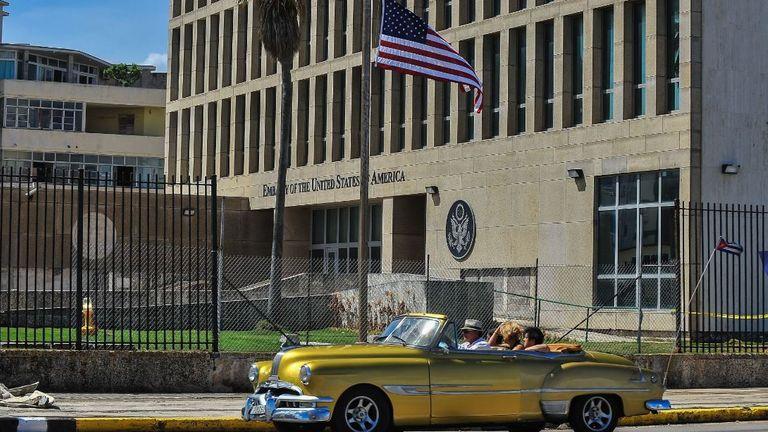 سفارة الولايات المتحدة الأمريكية