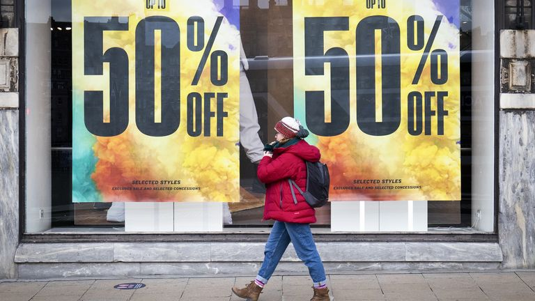 Prices on the high street have plummeted this year
