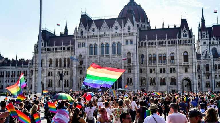 Orban's new legislation is at odds with LGBTQ rights