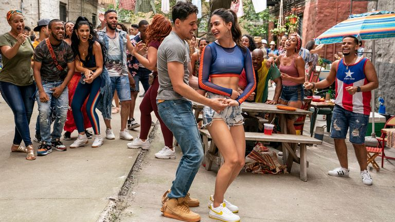 Much anticipated musical In The Heights will stream on HBO Max next year. Pic: Warner Bros Pictures