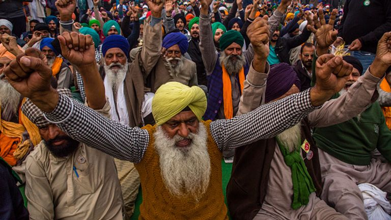 India's farmers say the laws are a big threat to their livelihoods