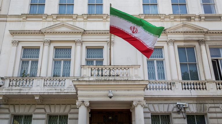 Parsa is said to have put an incendiary device in the exhaust of a diplomatic car outside the embassy