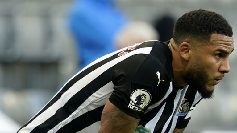 Jamaal Lascelles is suffering from the long-term effects of Covid-19