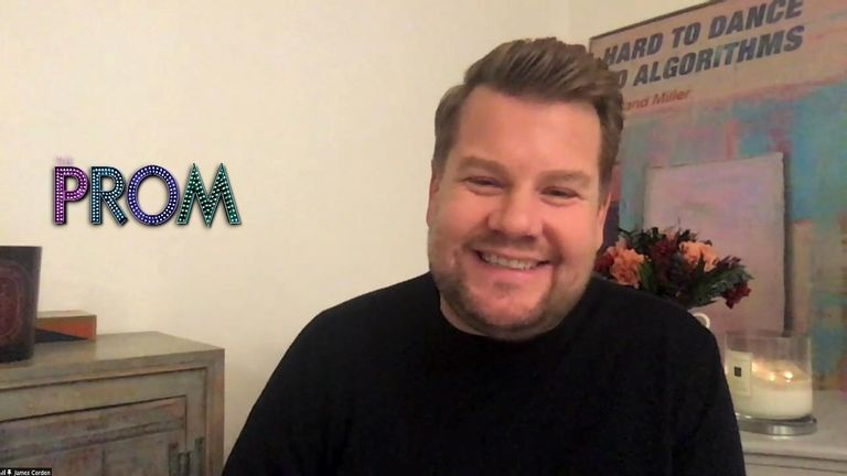 James Corden is part of a star-studded cast on Glee creator Ryan Murphy's latest film, Prom