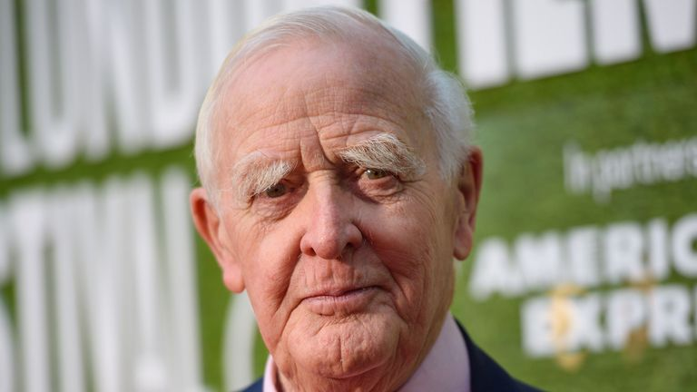Author David Cornwell was known by his pen name, John le Carré