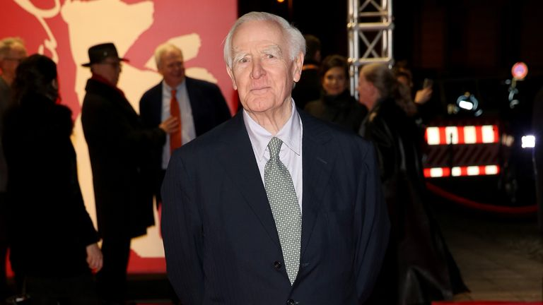John le Carre at the premiere of The Night Manager in Berlin in 2016