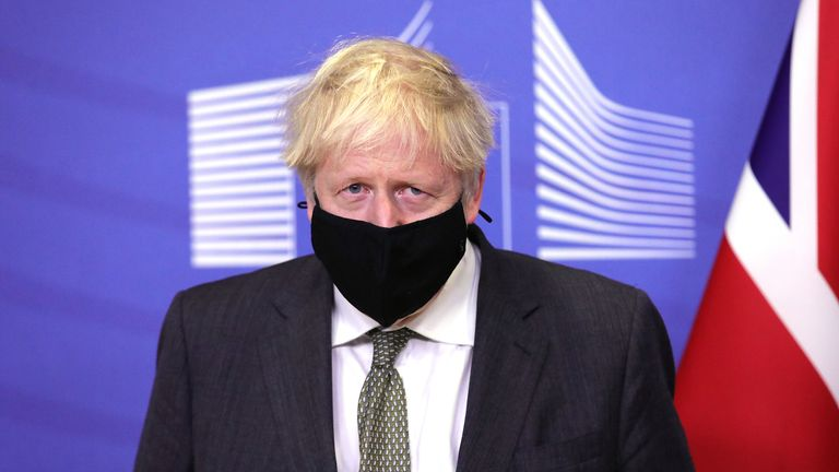 Boris Johnson got a three-course dinner but very little else from his Brussels trip