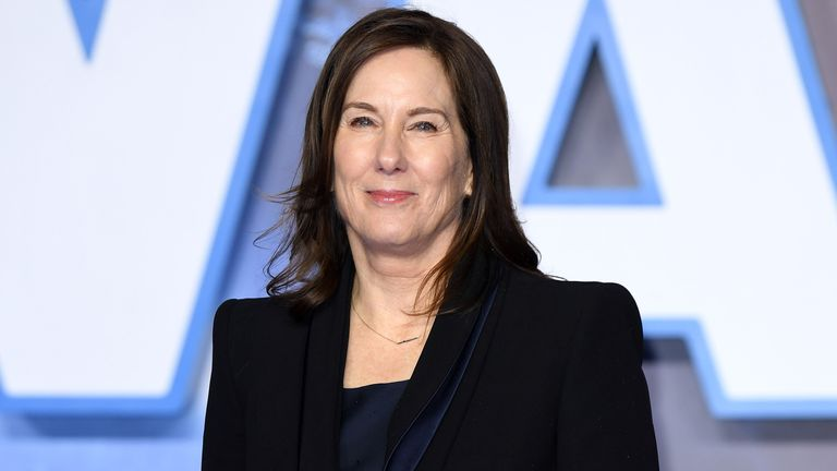 "LONDON, ENGLAND - DECEMBER 18: Kathleen Kennedy attends the ""Star Wars: The Rise of Skywalker"" European Premiere at Cineworld Leicester Square on December 18, 2019 in London, England. (Photo by Karwai Tang/WireImage)"