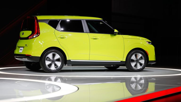 Electric vehicle Kia Soul