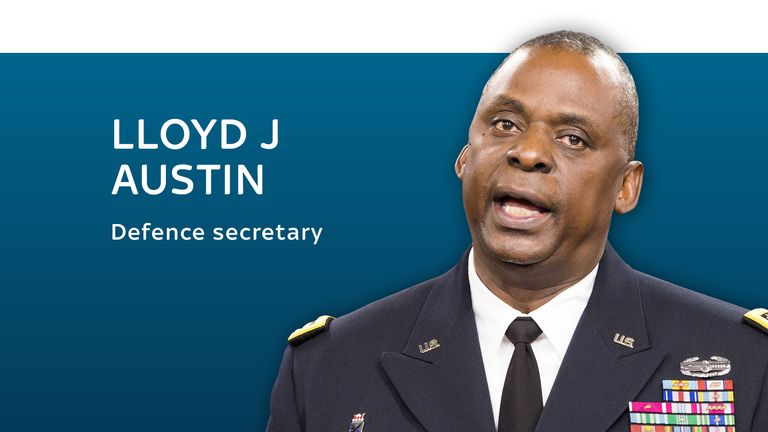 Lloyd J Austin