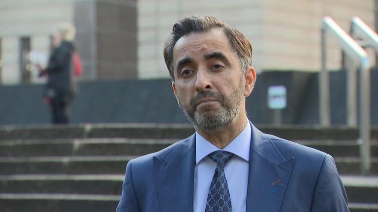 Aamer Anwar, lawyer for Abdel Basset al-Megrahi