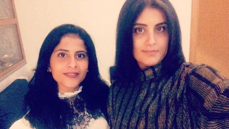 Loujain al-Hathloul and Lina al-Hathloul