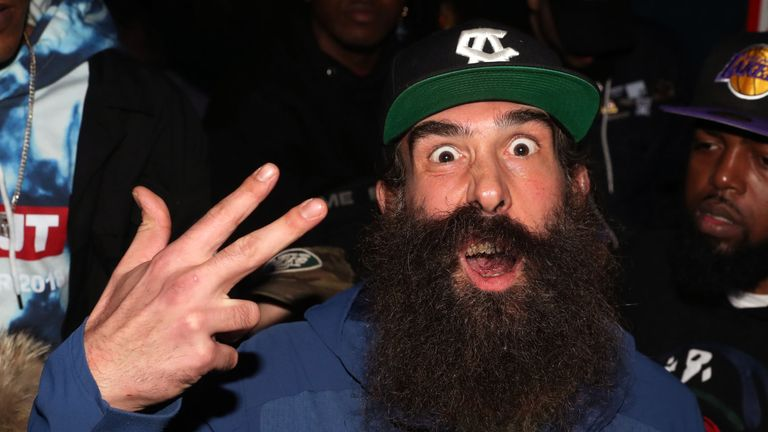 Wrestler Brodie Lee previously performed at WWE under the pseudonym  Luke Harper