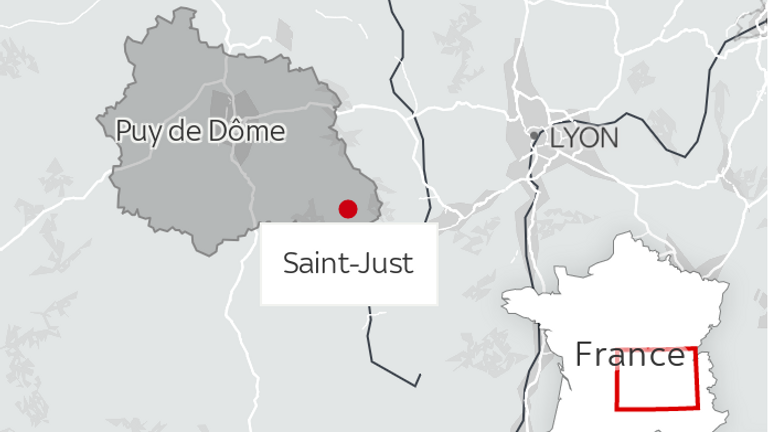 Three police officers have been shot dead and a fourth wounded in a remote village in France.