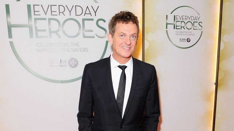 Matthew Wright attends the star-studded St John Ambulance Everyday Heroes celebration of the nation's life savers at the Royal Lancaster Hotel on March 26, 2014 in London, England.