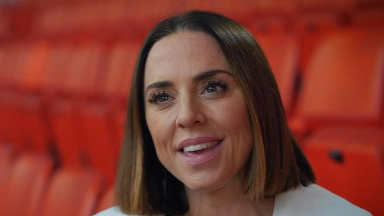 Melanie C played in Wembley Stadium with the Spice Girls just last year