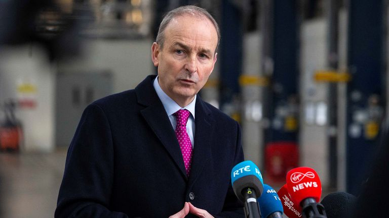 Irish Prime Minister Micheal Martin said negotiations have reached 'endgame'
