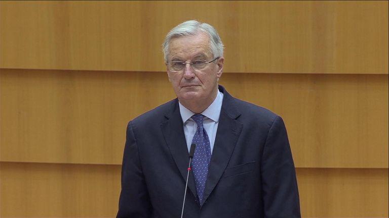 Michel Barnier Brexit negotiations