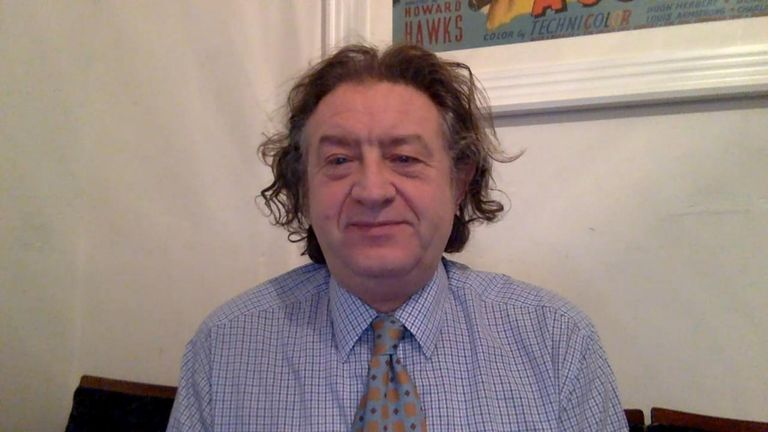 Professor Andrew Hayward is a member of the government's The New and Emerging Respiratory Virus Threats Advisory Group (NERVTAG)