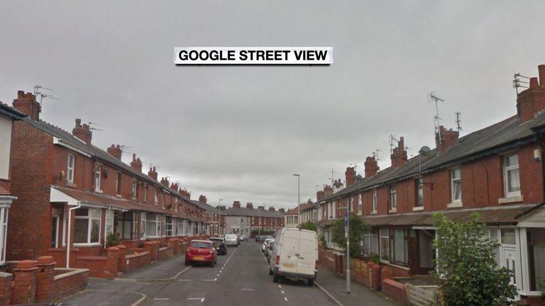 Onslow Road, Layton, Blackpool/ Google Maps