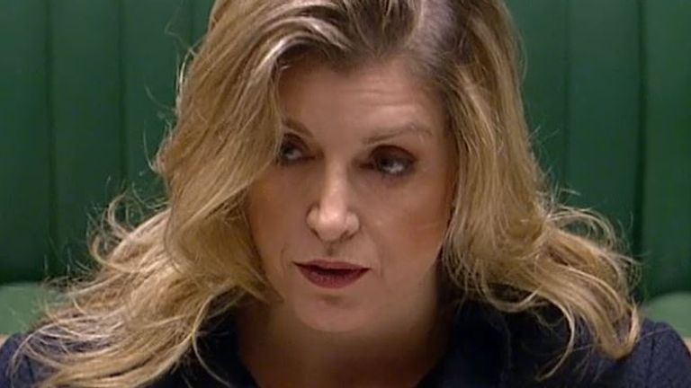 skynews penny mordaunt paymaster general 5198772 Football Souvenir Brexit: UK to ditch Internal Market Bill clauses after reaching agreement in principle on Northern Ireland Protocol
