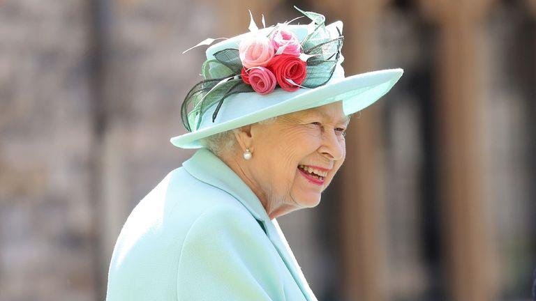 The Queen is spending Christmas Day at Windsor Castle
