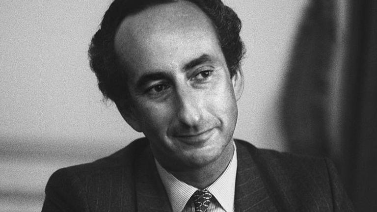 British business executive Sir Ralph Halpern, head of the Burton Group, on May 22, 1985