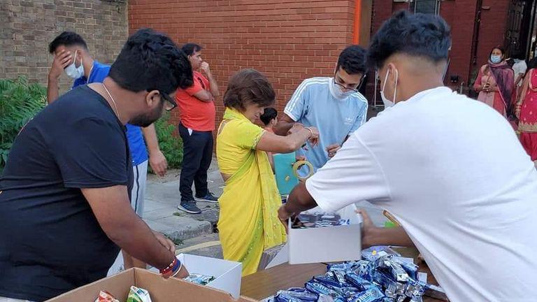 Ravi Bhanot MBE coordinated a community response