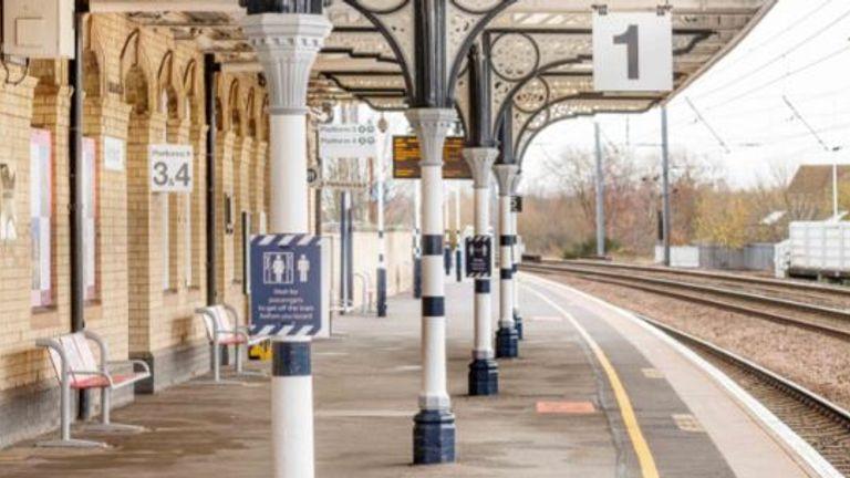 The Retford Railway Station in Nottinghamshire