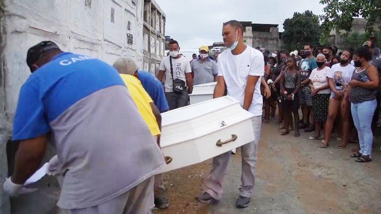 It happened in the Baixada Fluminense region