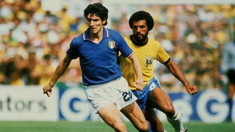 Italian striker turned pundit Paolo Rossi has died aged 64