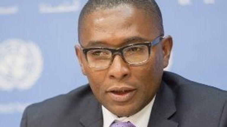 Selwin Hart is the special adviser to the UN secretary-general on Climate Action