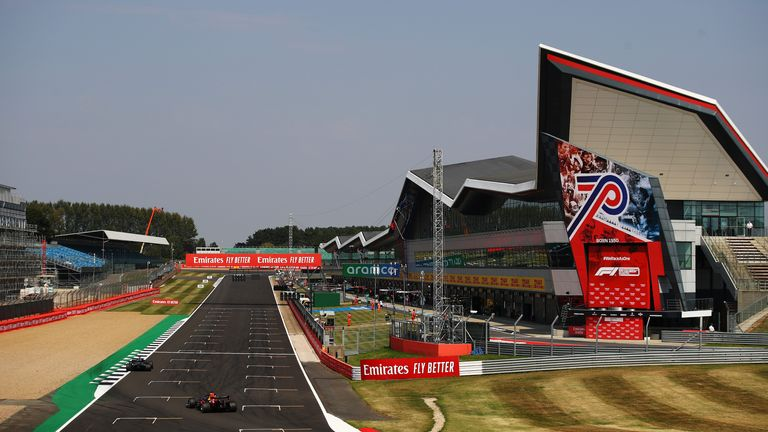 Silverstone renames pit straight at Silverstone after Lewis Hamilton