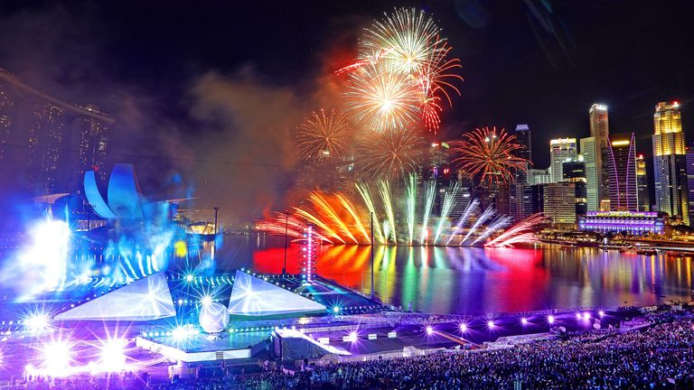 Singapore's Marina Bay display will not go ahead this year