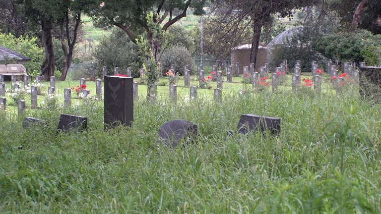 War grave cemeteries in South Africa were strictly segregated
