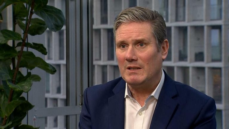 Sir Keir Starmer labour leader