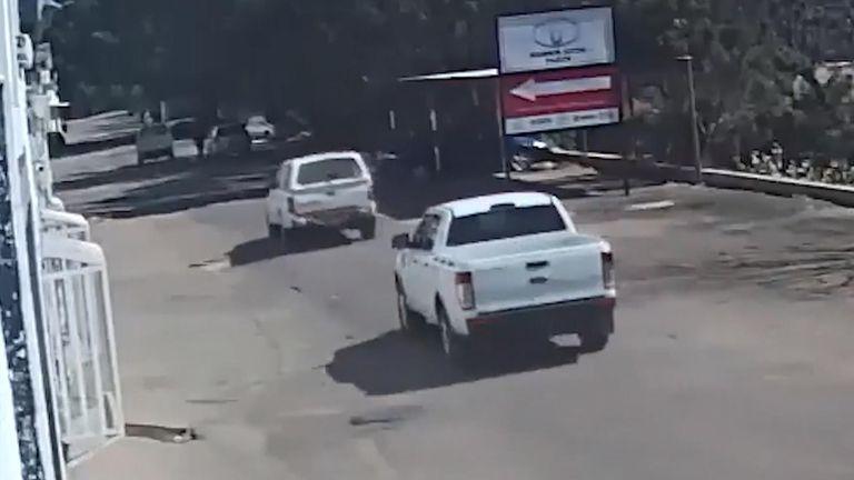 Tawanda Muchehiwa CCTV